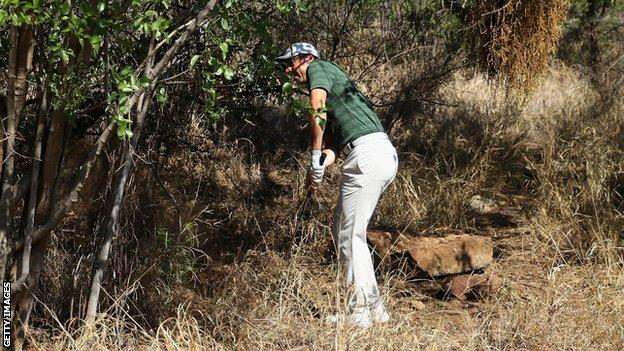 Rory McIlroy is set to finish just outside the top 20 in Sun City