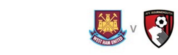 West Ham v Bournemouth
