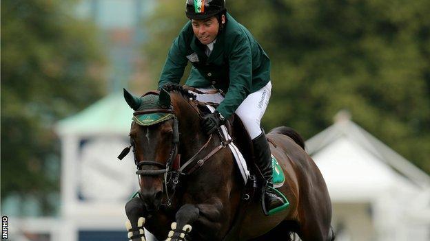 Ireland's Cian O'Connor on board Good Luck