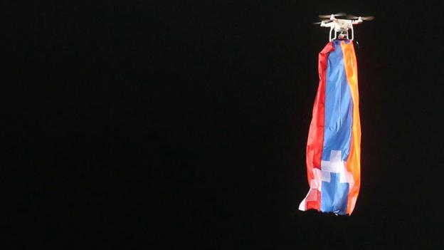 F91 Dudelange v FK Qarabag: Europa League game halted by drone
