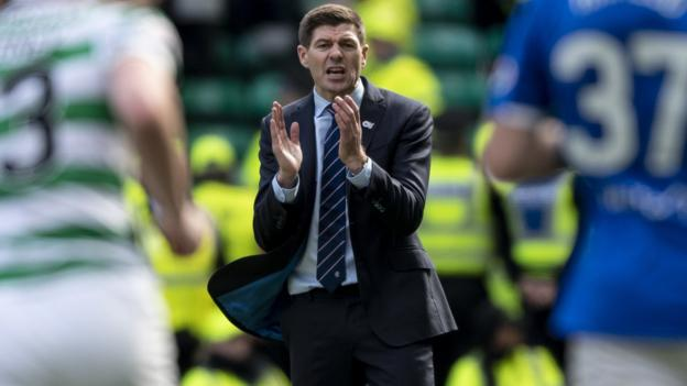 Scott Brown & Steven Gerrard face bans following Celtic v Rangers game thumbnail