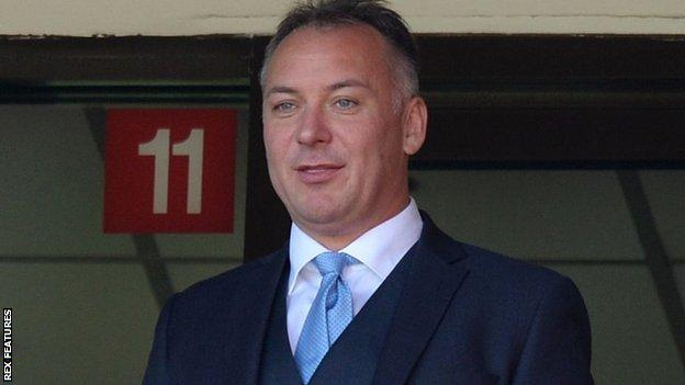 Former Eastleigh owner Stewart Donald completed his takeover from Sunderland's previous owner Ellis Short in May 2018