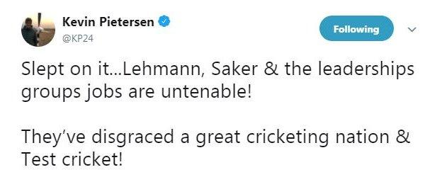 Former England batsman Kevin Pietersen gives his view on the positions of Australia coach Darren Lehmann and his assistant David Saker