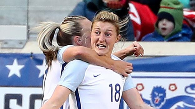 100273809 ellenwhitegetty1 - Germany Ladies folks 2-2 England Ladies folks