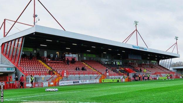 Crawley Town's People's Pension Stadium