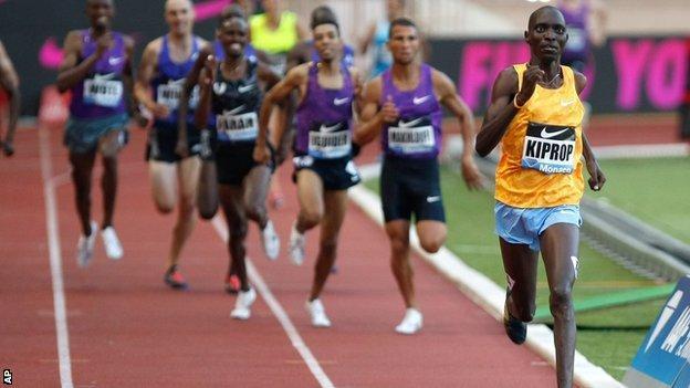 1500m in Monaco