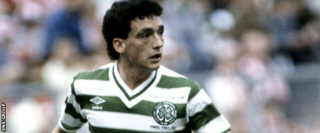 Paul McStay played for Celtic from 1981-1997