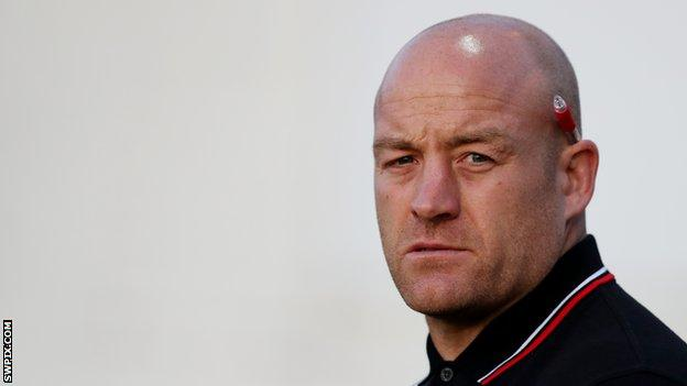 Danny Ward was previously the assistant coach at London Broncos before taking over as head coach in 2018