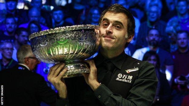 Ronnie O'Sullivan won the Champion of Champions for the third time with a dramatic final win over Kyren Wilson at The Ricoh Arena