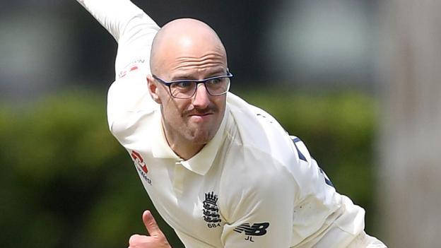 South Africa v England: Jack Leach to return home with illness