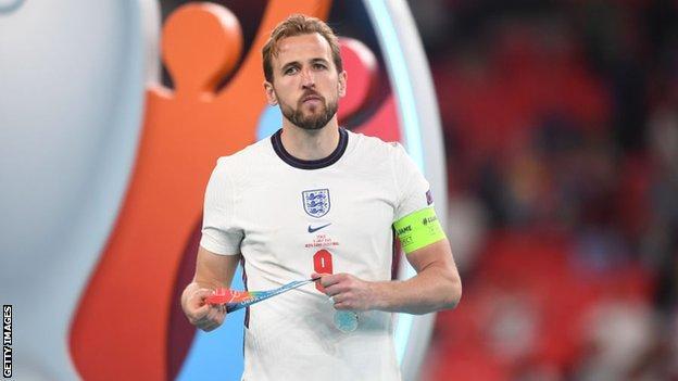 Harry Kane at Euro 2020