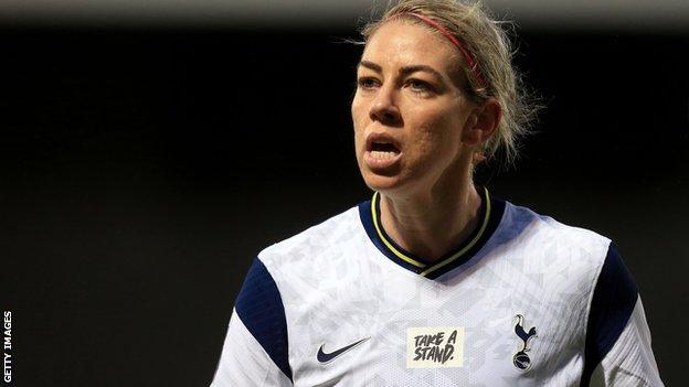 Tottenham Hotspur Women midfielder Alanna Kennedy