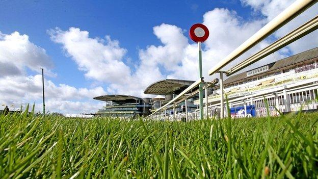 Who will pass the winning post first at Aintree?