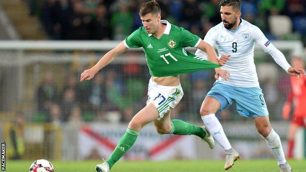Paddy McNair played well on his return to the Northern Ireland side