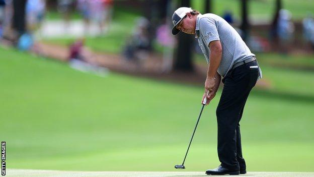 Jason Dufner at the Wells Fargo Championship