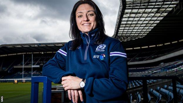 Scottish Rugby's head of women and girls' rugby Gemma Fay