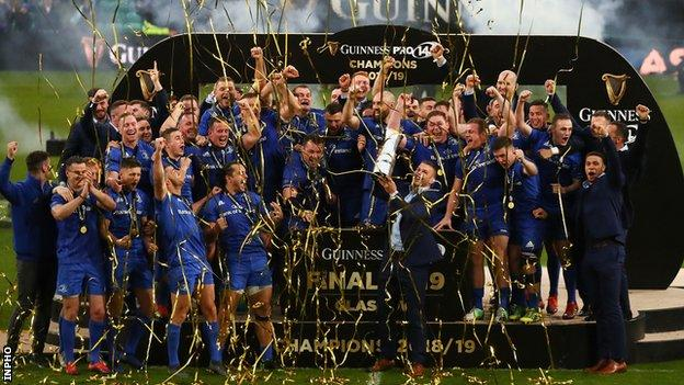 Leinster lifting Pro14