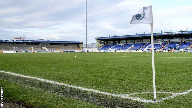Deva Stadium, Chester
