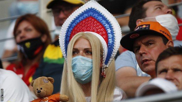 Fans at Sochi