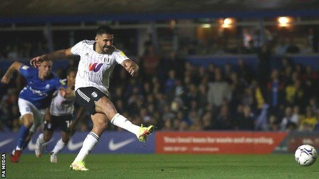Aleksandar Mitrovic has netted in all but two of Fulham's seven Championship matches this term
