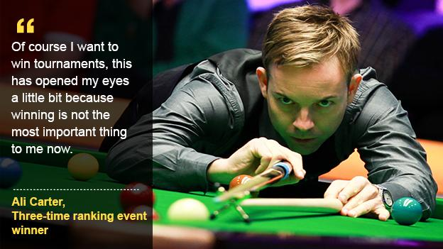Aspire to be like Ali Carter.