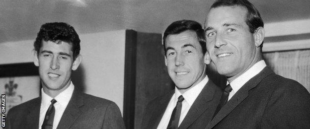 Ron Springett, Gordon Banks & Peter Bonetti