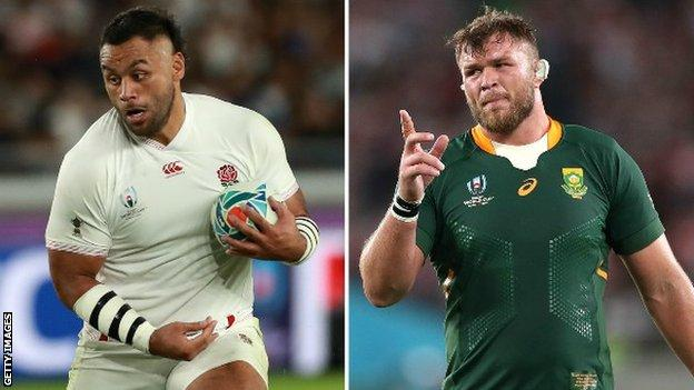 Billy Vunipola and Duane Vermeulen