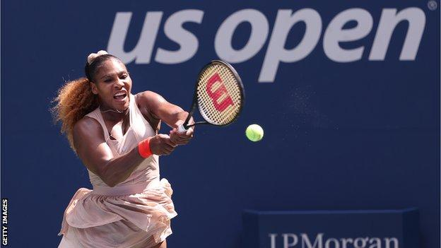 Serena Williams Overcomes Maria Sakkari to Reach US Open Quarter-finals