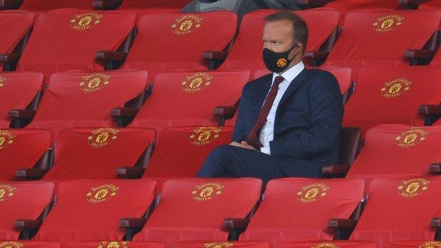Manchester United başkan yardımcısı Ed Woodward