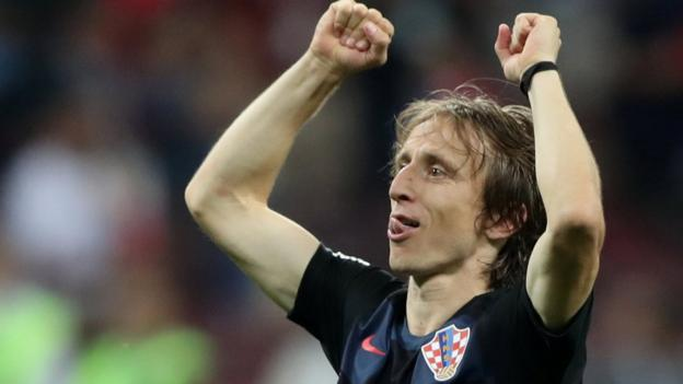 102492219 modric - World Cup: Croatia were'underestimated' by English critics - Luka Modric
