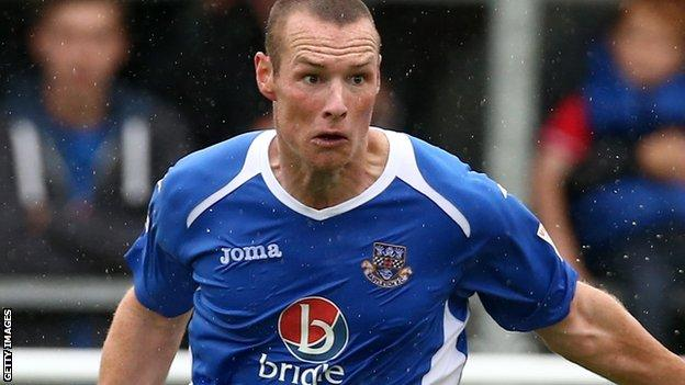 Eastleigh striker James Constable