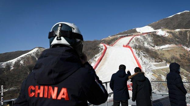 The National Alpine Ski Centre, a venue for the Beijing 2022 Olympic Winter Games