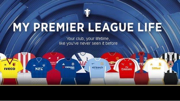 My Premier League Life graphic