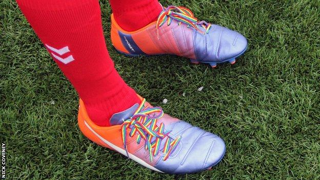 Nick Coveney and Rainbow Laces