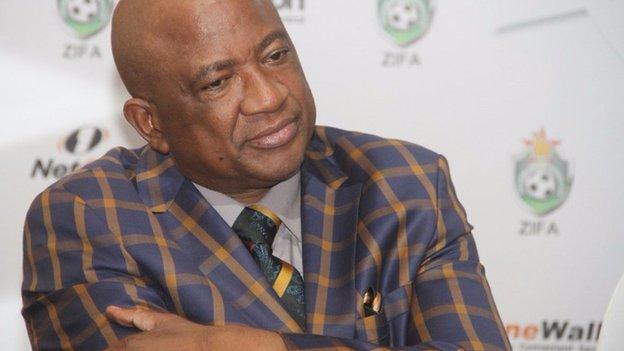 Zimbabwe FA boss Phillip Chiyangwa