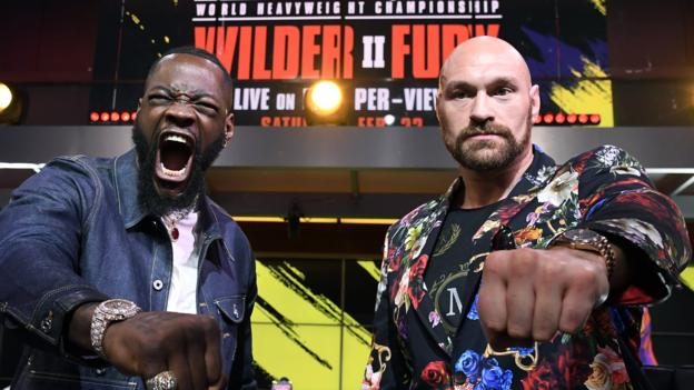 Deontay Wilder v Tyson Fury II: Third fight clause included in contract, says promoter Frank Warren thumbnail