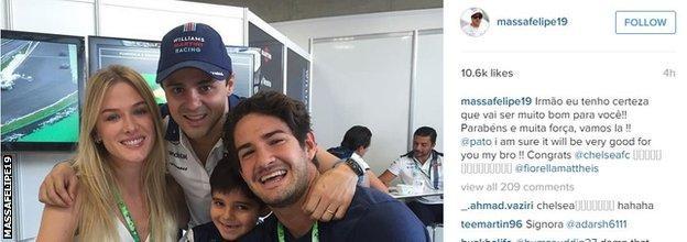 Felipe Massa instagram
