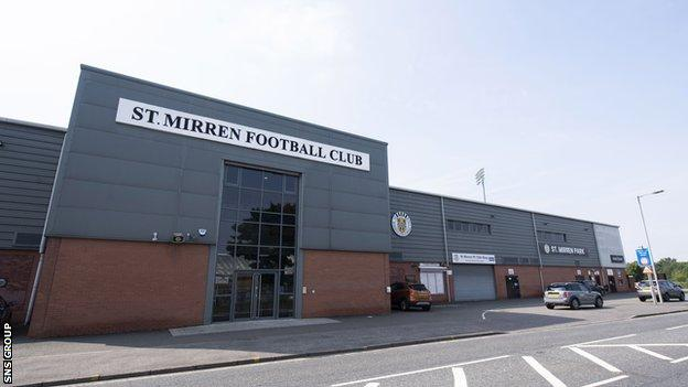 St Mirren will exchange players and coaches with Para Hills Knights