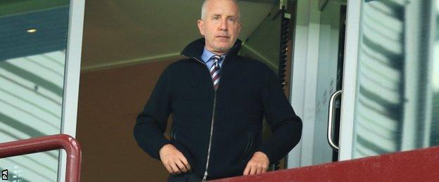 Aston Villa boss Randy Lerner