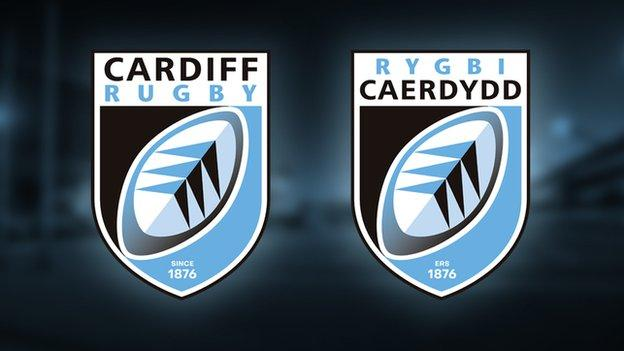 The new Cardiff Rugby logos