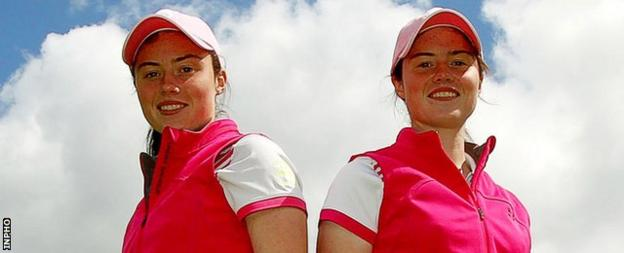 Cavan's Leona Maguire previously played on the Ladies European Tour as a 12-year-old alongside twin sister Lisa at the Northern Ireland Open in 2007