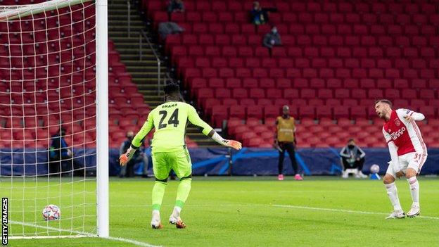 Ajax own goal