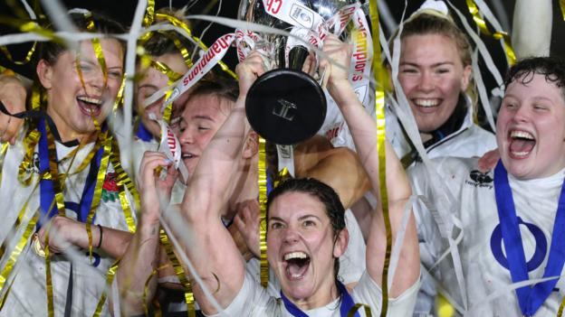 England 80-0 Scotland: Red Roses win Grand Slam and regain Women's Six Nations