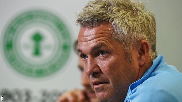 Rosenborg coach Kare Ingebrigsten