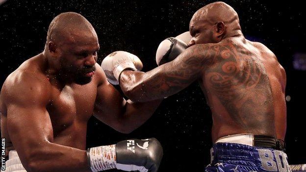 Dillian Whyte fights Derek Chisora