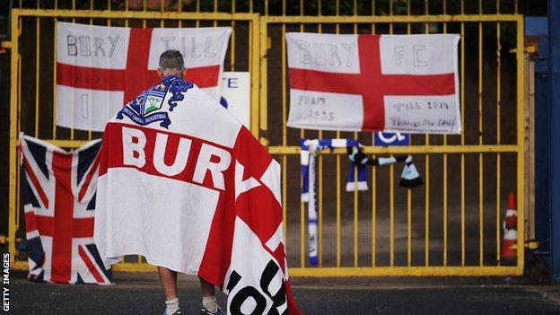 A Bury fan