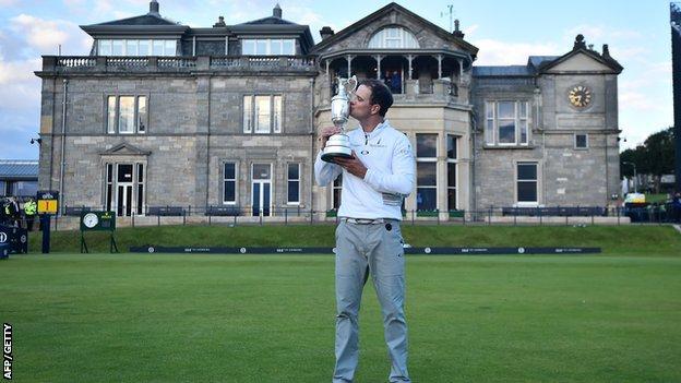 Zach Johnson wins the 2015 Open