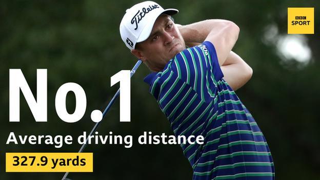 Justin Thomas driving stats