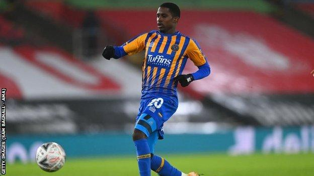 Shilow Tracey made the last of his on-loan 12 Shrewsbury appearances in last week's FA Cup third round defeat at Southampton
