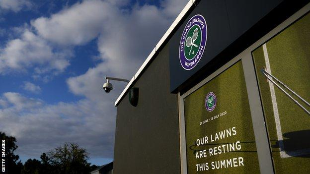 The coronavirus pandemic meant Wimbledon was cancelled in 2020 for the first time since World War Two